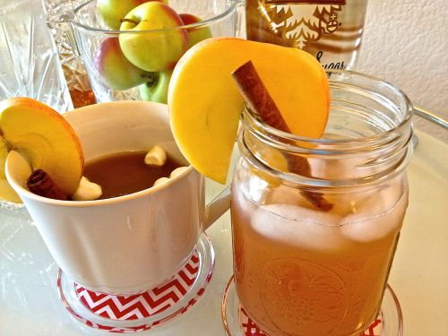 Hot or Cold Spiced Cran-Apple Hard Cider | Cocktails | Pinterest