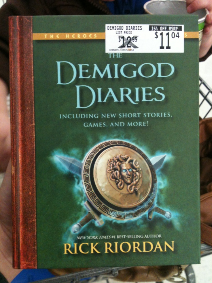 demigod diaries books i have read or want to read