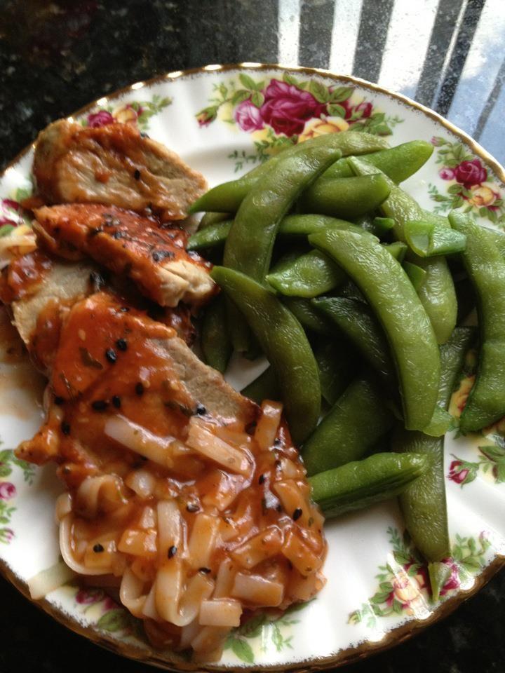 Pork Tenderloin in Asian Plum Sauce | Yummy Gluten Free Main Dishes ...