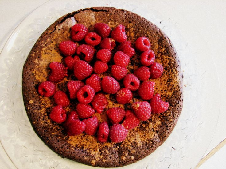 Flourless chocolate torte | Recipes to try | Pinterest