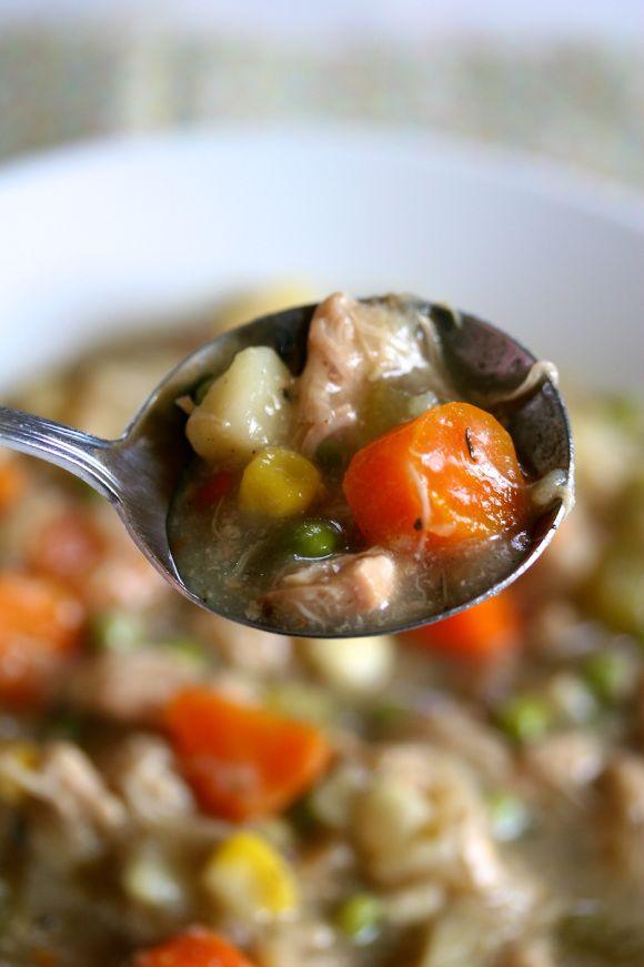 slow cooker chicken stew | Mm Mm Good. | Pinterest