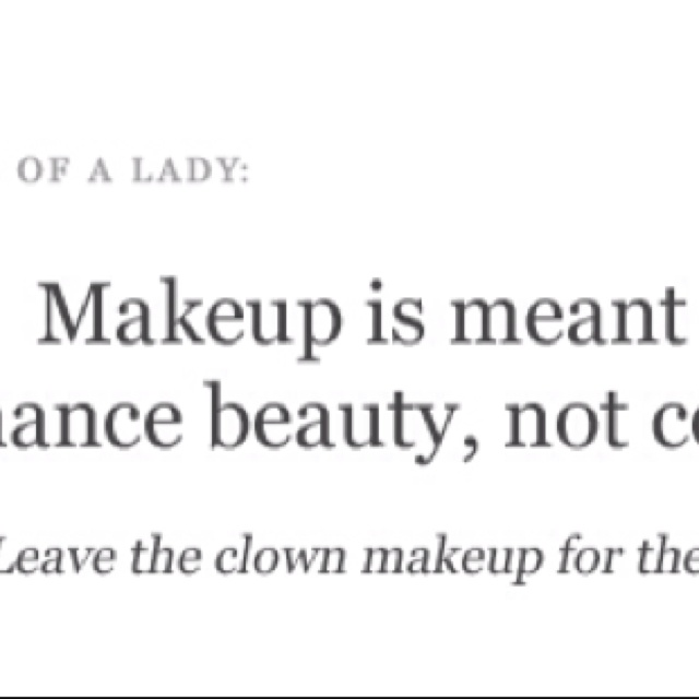 2 Quotes Inspirational Quotes About Makeup. QuotesGram