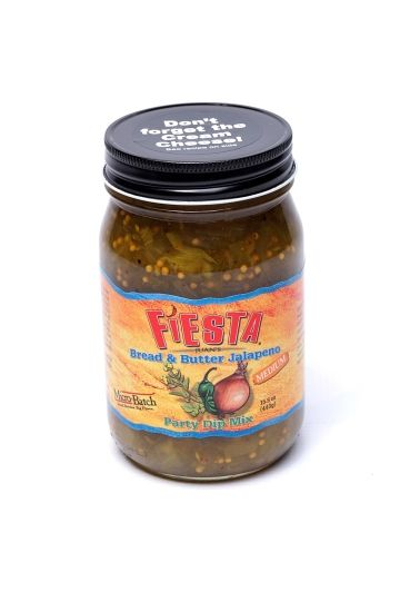 ... were bread and butter pickles: now it's bread & butter jalapeno