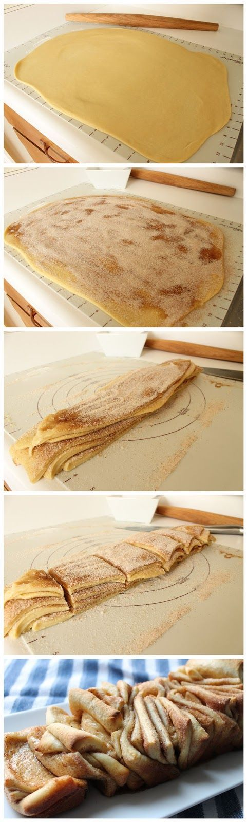 Cinnamon Sugar Pull-Apart Bread   Recipes   Pinterest