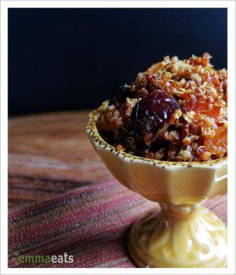 Warm Moroccan Quinoa Salad | Looks Delicious! (My semi-veg GFCF colle ...