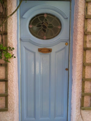 1930s front door with stained glass panel for 1930 front door