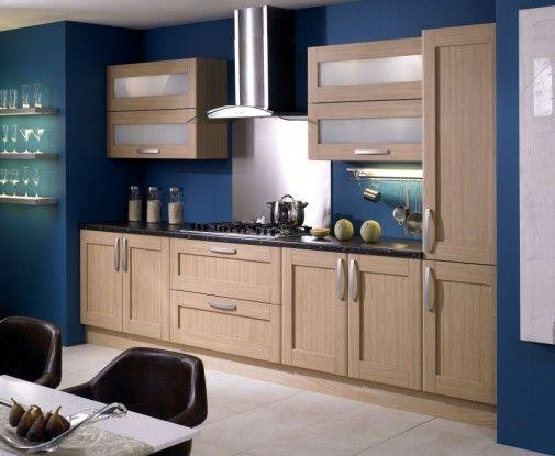 blue kitchen  Home ideas  Pinterest