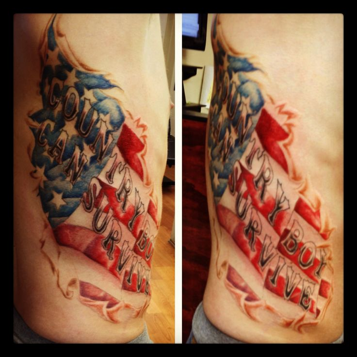 Country Boy Can Survive Tattoo