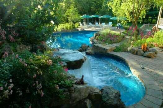 Pictures Of Beautiful Backyard Pools : Beautiful backyard pool!  DreAmy H MEs & POOLs  Pinterest