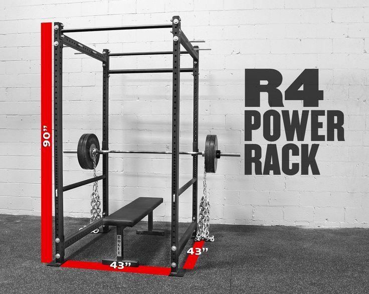 Rogue r power rack crossfit garage gym pinterest