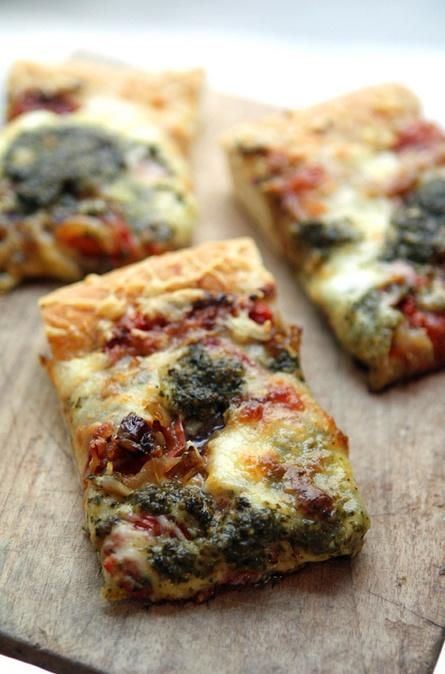 Party pan pizza, David Lebovitz