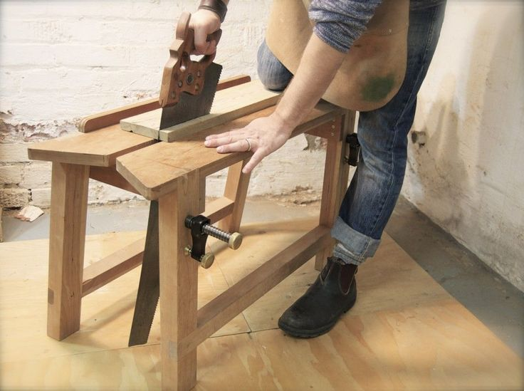 Sawing Bench Work Benches Pinterest