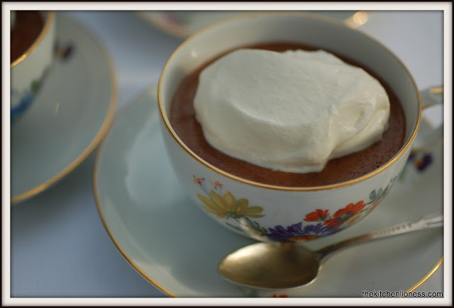 ... French Fridays with Dorie - Top-Secret Chocolate Mousse @Andrea Mohr