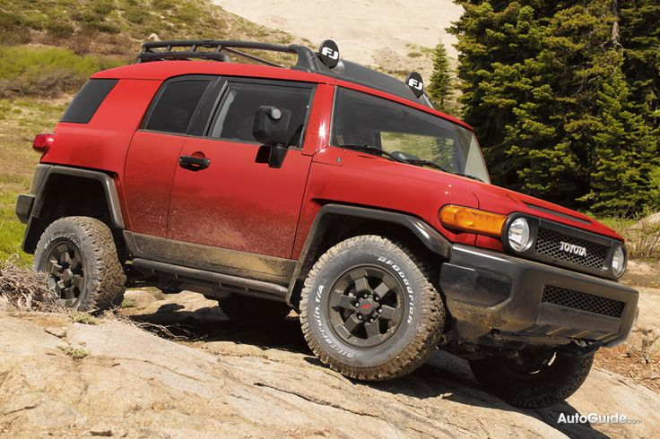 2012 FJ Cruiser Trail Team Edition