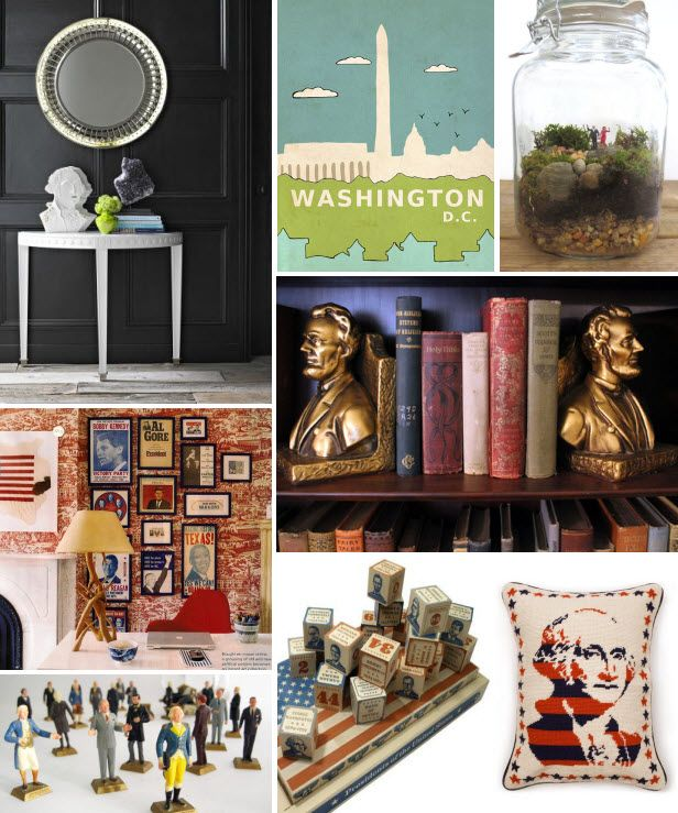 Mood Board Monday: President's Day (http://blog.hgtv.com/design/2014/02/17/mood-board-monday-presidents-day/?soc=pinterest)