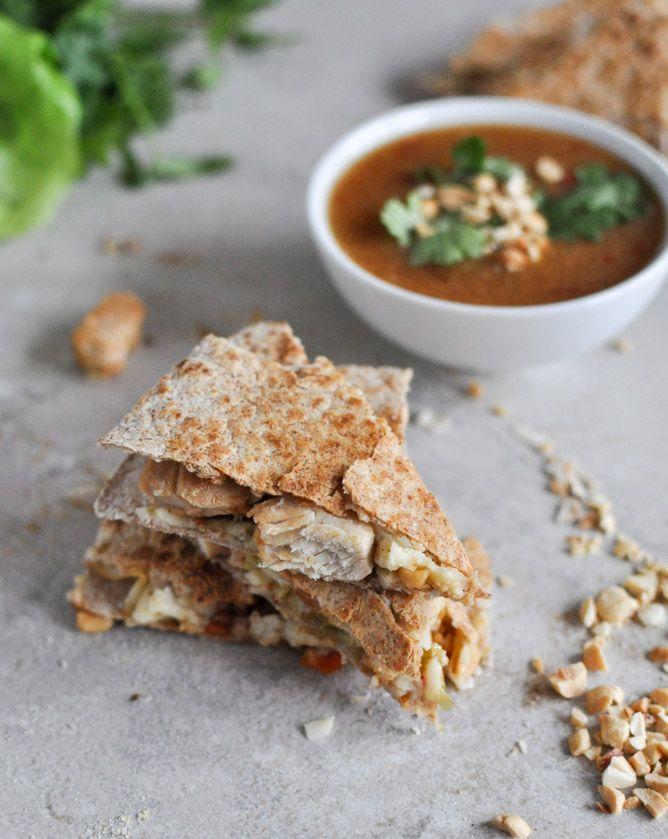 Thai Chicken Quesadillas | Recipe