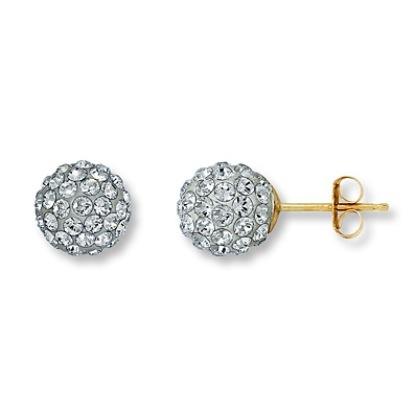 Crystal Earrings From Kay Jewelers