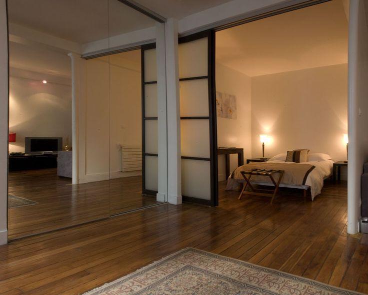 Bedroom divider doors dividers