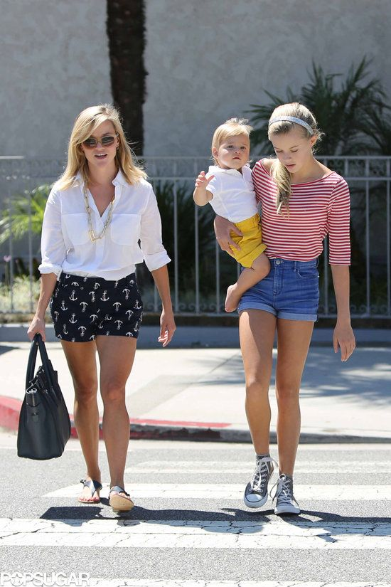 Celebaby Roundup!: Jessica Alba took Haven for a stroll through NYC on Monday. : Reese Witherspoon walked around LA on Sunday with her kids, Ava and Tennessee.