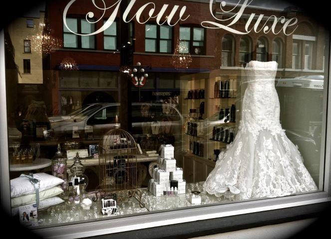 Window display bridal shop bridal shops pinterest for How to display a wedding dress