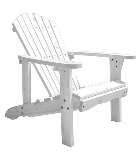 Deluxe Adirondack Chair - White at Menards
