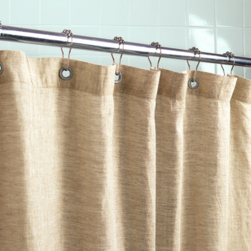 organic shower liner. better than PVC liners, which can offgas ...