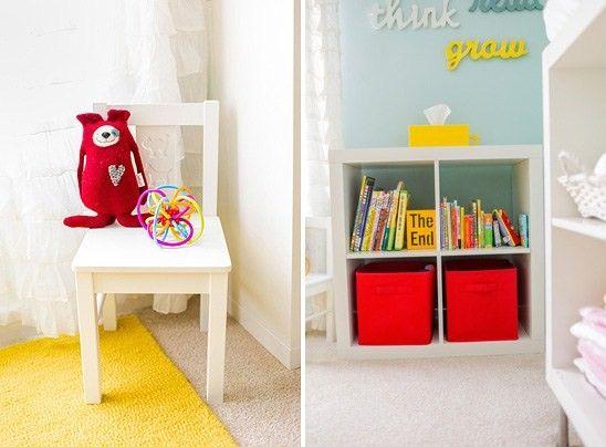 decoracao quarto azul turquesa e amarelo:Found on quartodebebe.net