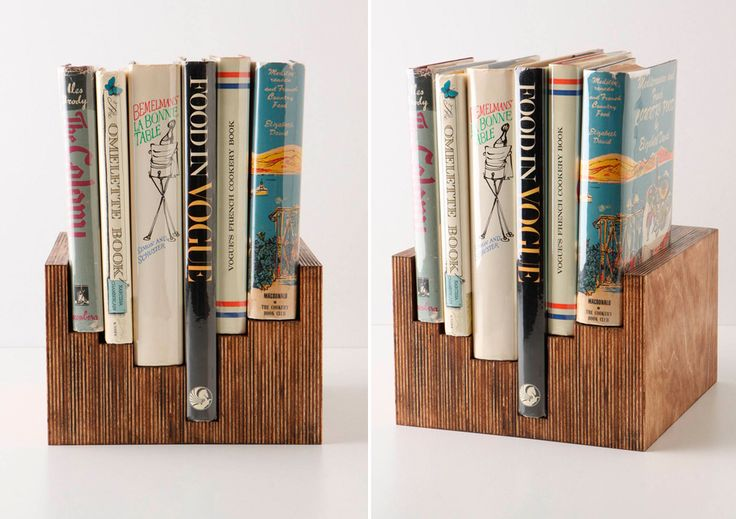 Check out some of the book storage DIY projects we found & loved this week!