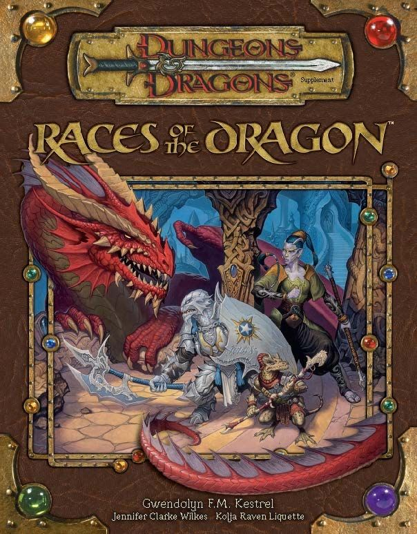 d&d 3.5 book of races