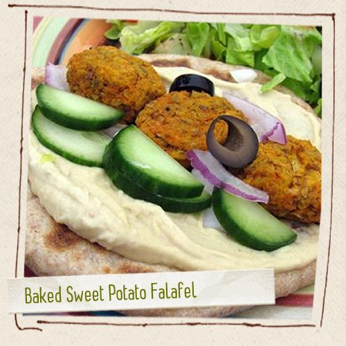 Baked Sweet Potato Falafel | Food, food, glorious food! | Pinterest