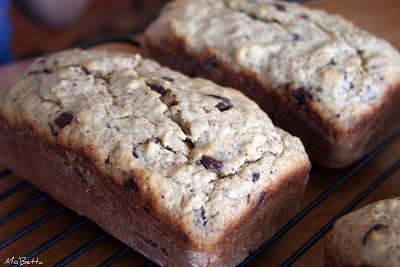 Chocolate Bourbon-Spiked Banana Bread | Desserts | Pinterest