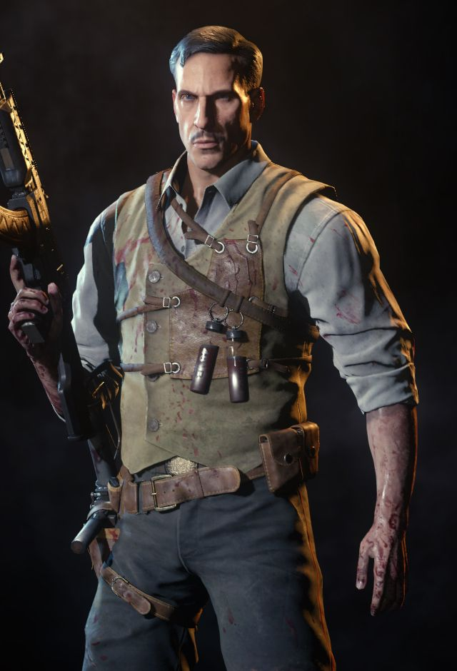 Dr Edward Richtofen From The Zombies Storyline Call Of
