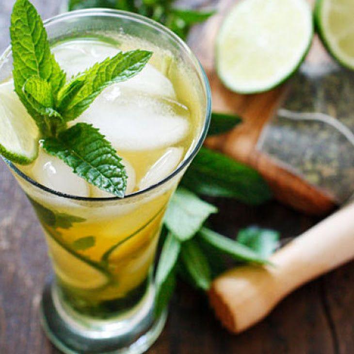 Iced Green Tea Mojito | Drank's Hot & Cold | Pinterest