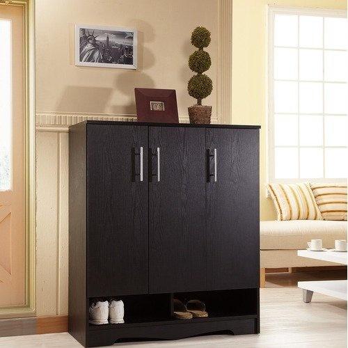 Hokku Designs Sadie Modern 7 Shelf Shoe Cabinet