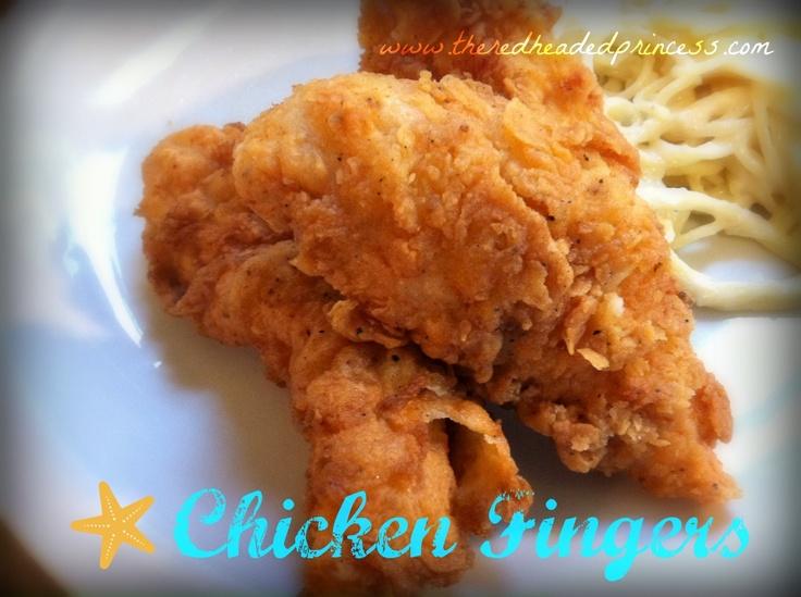 Homemade Chicken Strips Recipes — Dishmaps