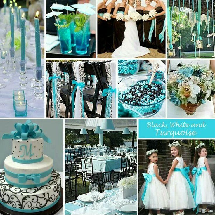 black white wedding ideas: Pinterest