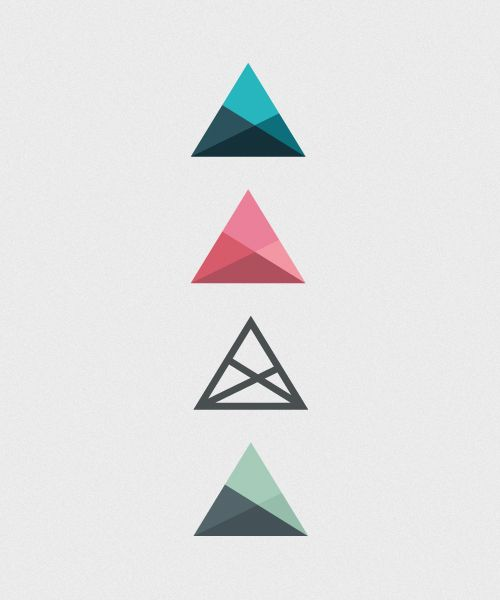 Cool triangle designs