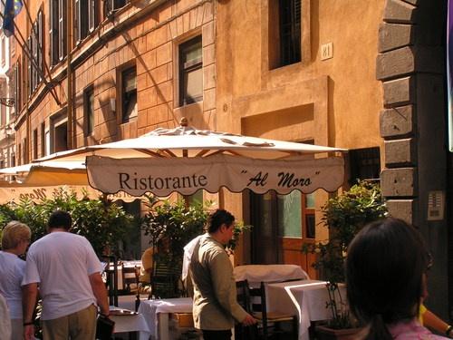 Il Moro Restaurant Rome Italy