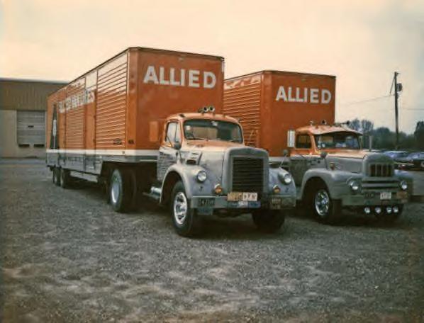 Allied Van Lines Trucks 1968