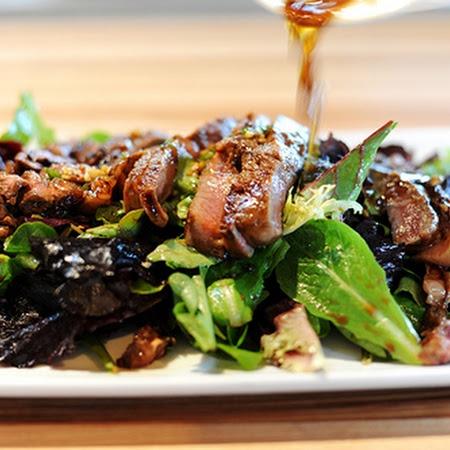 Ginger Steak Salad. ☀ CQ #summer #salad | yummo | Pinterest