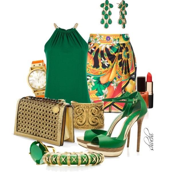 Prep 101- Fashion Book Green
