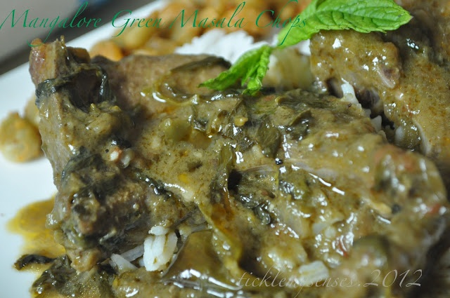 Mangalorean Lamb Chops Green Curry with Fenugreek Leaves