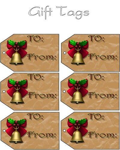Gift tags christmas pinterest for Christmas tags on pinterest