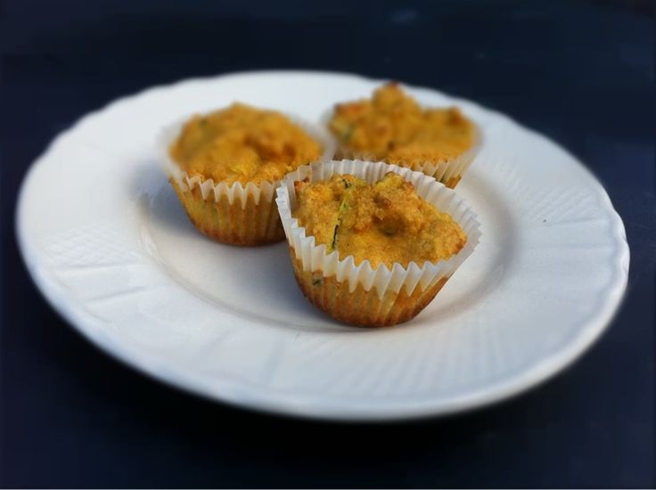 Savory Coconut Flour Zucchini Muffins | whole life challenge approved ...