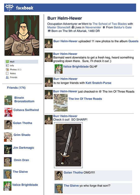 Facebook page for literary character | Reading & Language Arts | Pint ...
