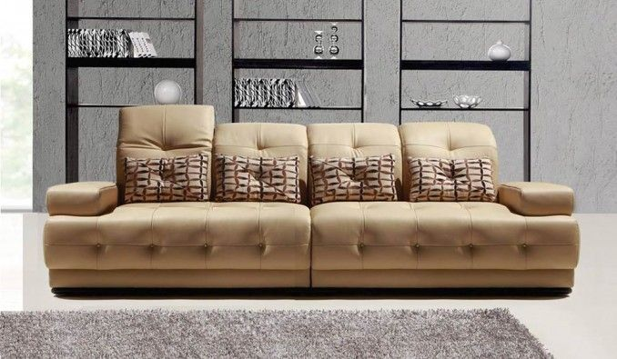 Martino 4 Seater Leather Sofa DL Lounge Pinterest