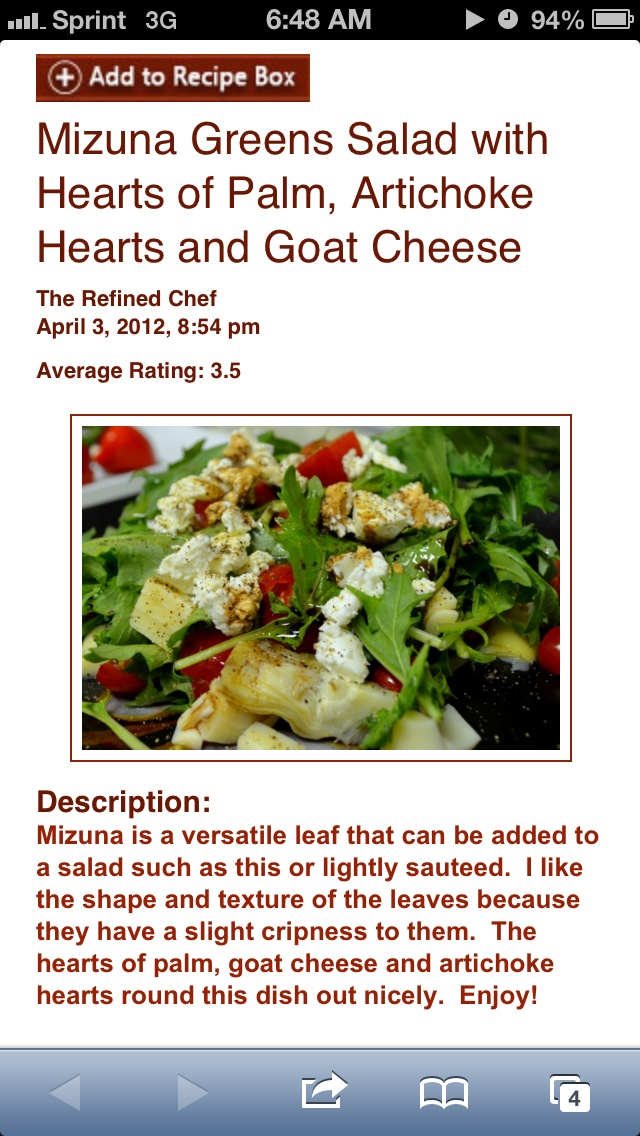 ... _Greens_Salad_with_Hearts_of_Palm,_Artichoke_Hearts_and_Goat_Cheese