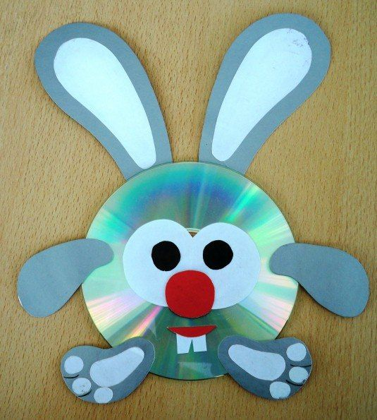 Поделки из дисков своими руками мастер класс видео 129