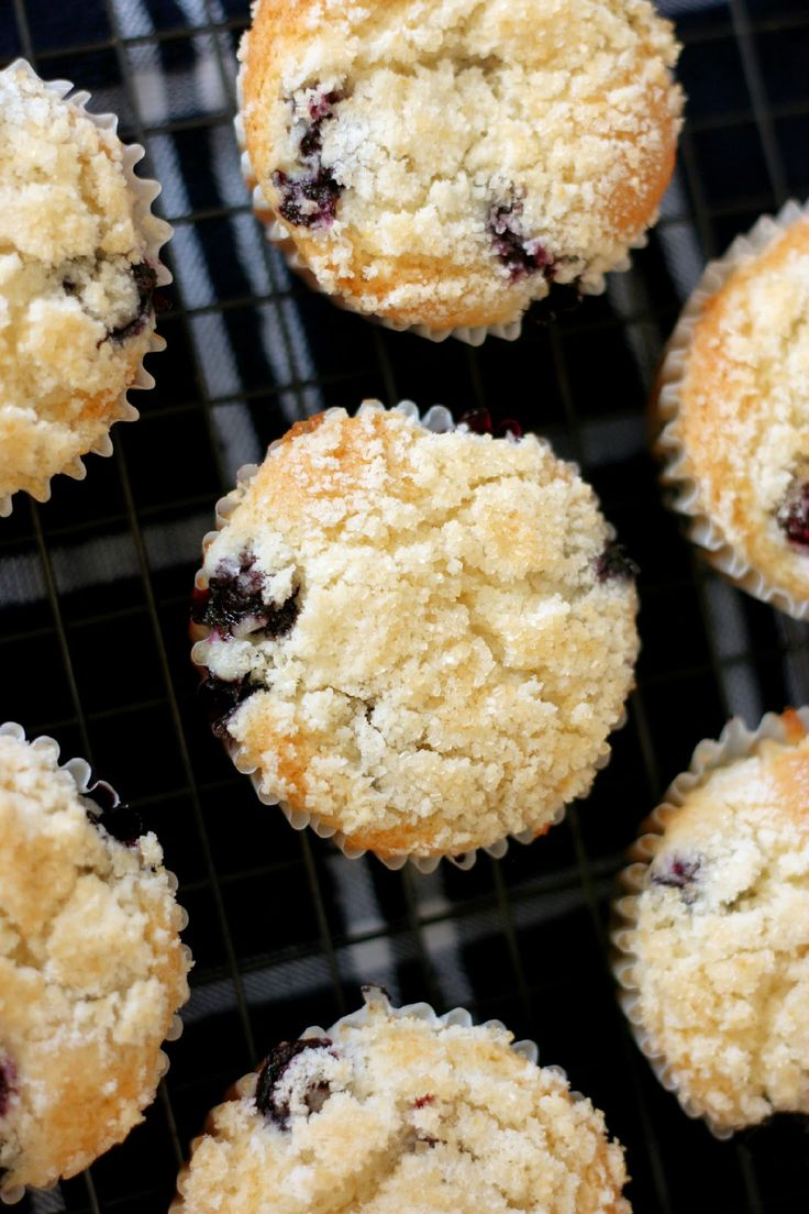 Bakery Style Blueberry Muffins   Muffins   Pinterest