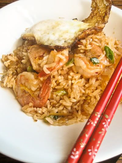 Kimchi and Shrimp Fried Rice Recipe | All dolled up! | Pinterest